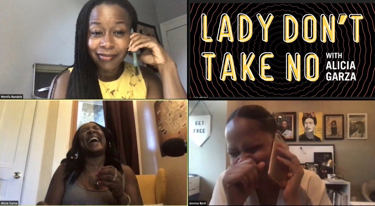 *taps mic* NEW EPISODE ALERT!! This week my sisters @JessicaLBYRD and @monifabandele, talk about the BREATHE Act — legislation that divests from criminalization + invests in US, gaslighting, puzzles and wine, and how not to get caught slipping. TUNE IN! #DowhatchaLike