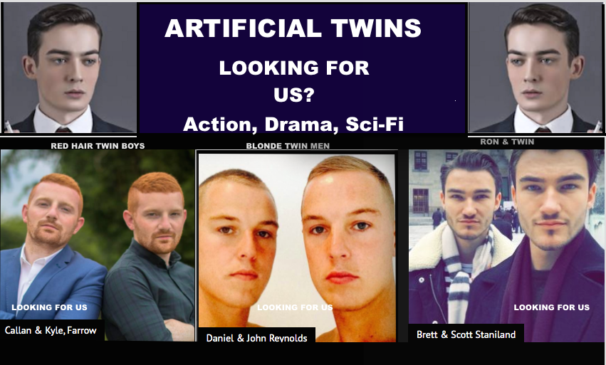 """Artificial Twins (2021)  I have never seen so many of them, they talk about Twins, """"ARTIFICIAL TWINS""""  #action,#drama,#scifi,#drama,#thriller  Every Human has a soul, what happens when it splits?  # BelgiumMovies #GermanMovies #movies  #Twins  #Filmscorepic.twitter.com/nQ3moumjG5"""