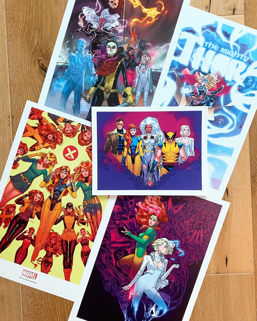 ✨NEW PRINTS✨ Just added GIANT-SIZE X-MEN, MIGHTY THOR, MARAUDERS, 90s X, and restocked Jean Grey prints to my store!