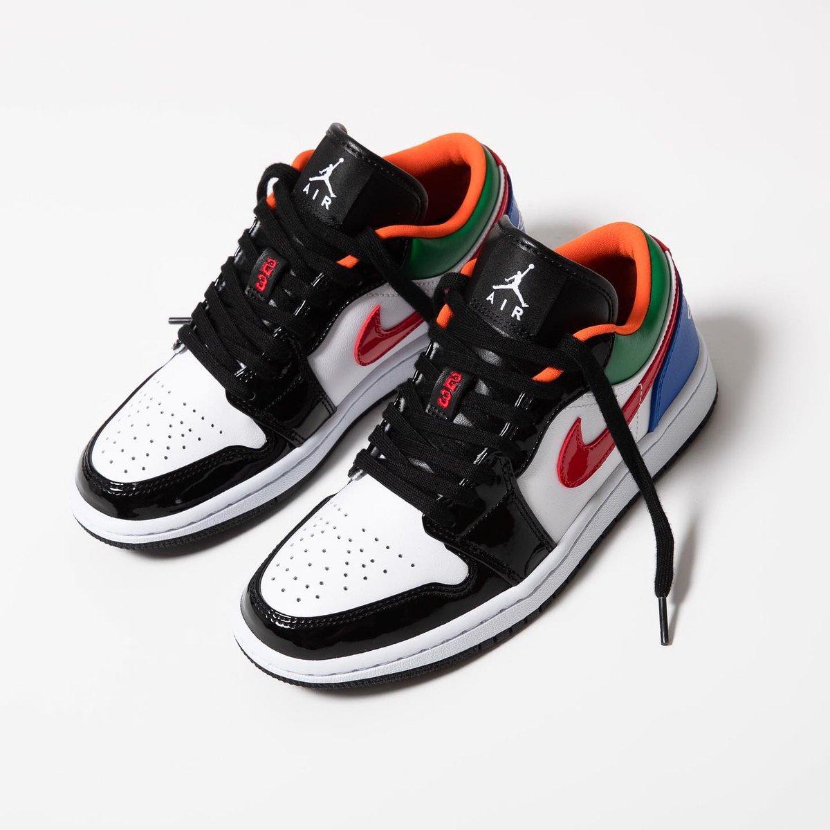 Sneaker Shouts On Twitter Air Jordan 1 Low Se W Multicolor