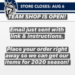 Image for the Tweet beginning: Team Shop OPEN! Please place