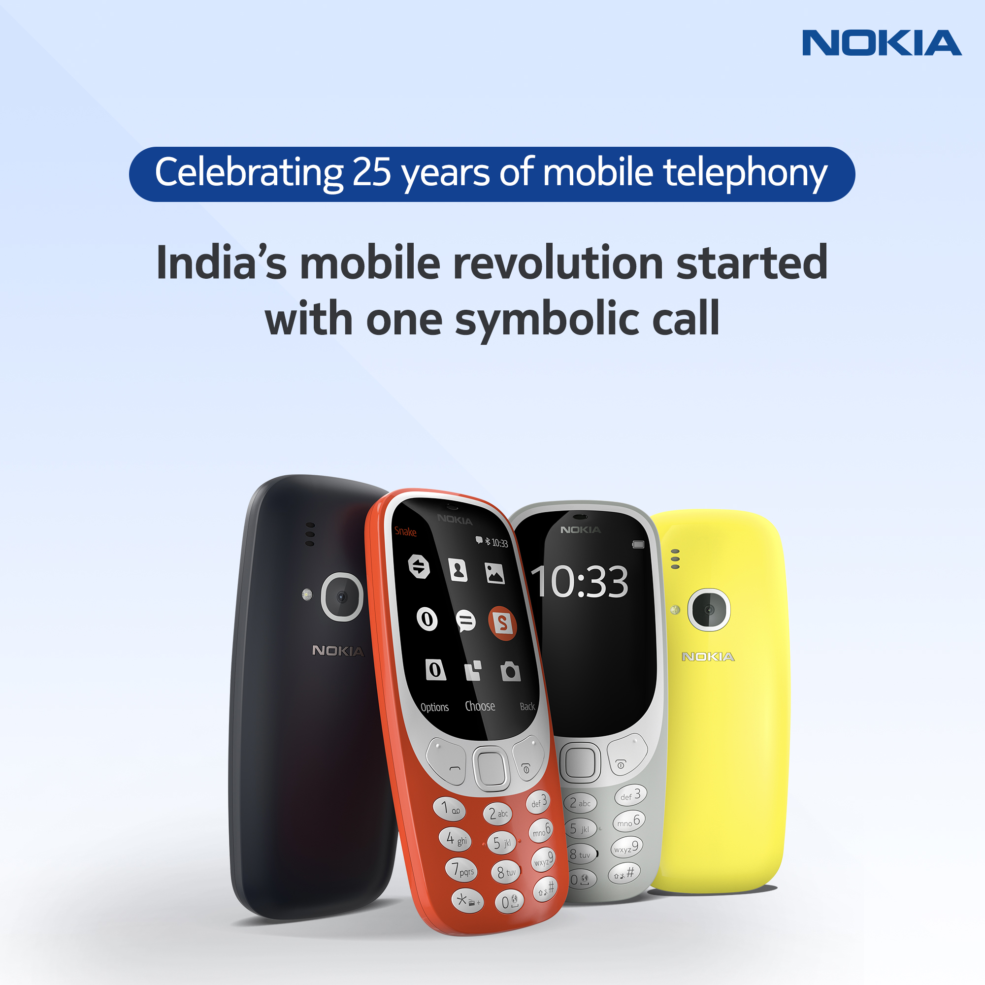 first mobile phone in india