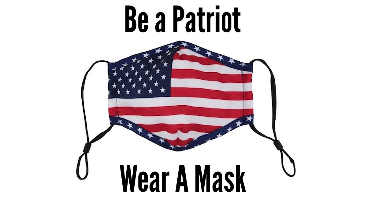 🚨Mask up America! You are putting the lives of others at risk. It is said repeatedly, you are being asked to wear a mask to protect OTHER PEOPLE! Is it really that hard to wear a piece of cloth over your mouth & nose? Think of it as a good deed! #WearAMaskSaveALife #dems4USA twitter.com/PatsKarvelas/s…