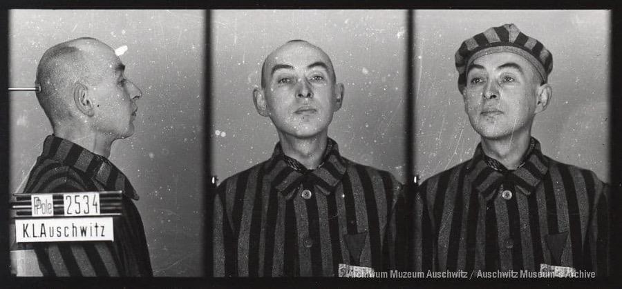 31 lipca 1900 | W Warszawie urodził się Polak Stefan Gielba. Urzędnik.  W #Auschwitz od 15 sierpnia 1940 r. Nr 2534 Zginął w obozie 4 sierpnia 1941 r. https://t.co/jK0XaNjDrZ