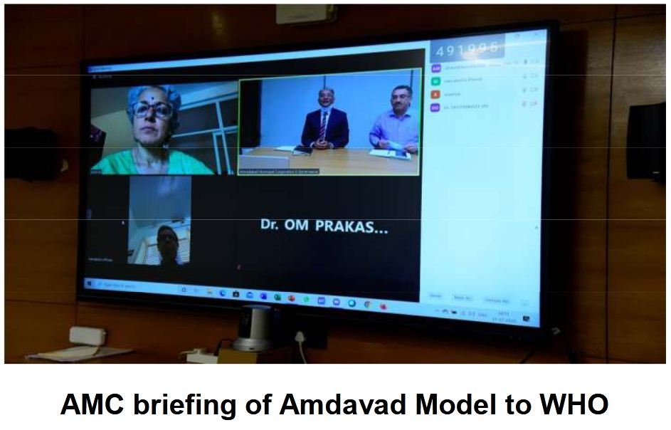 WHO evinces interest in Amdavad COVID Management Model