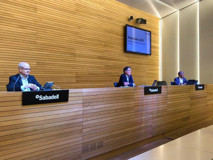 #ResultatsSabadell | Acaba la intervenció del CEO, Jaume Guardiola https://t.co/rPBaVNwfn5