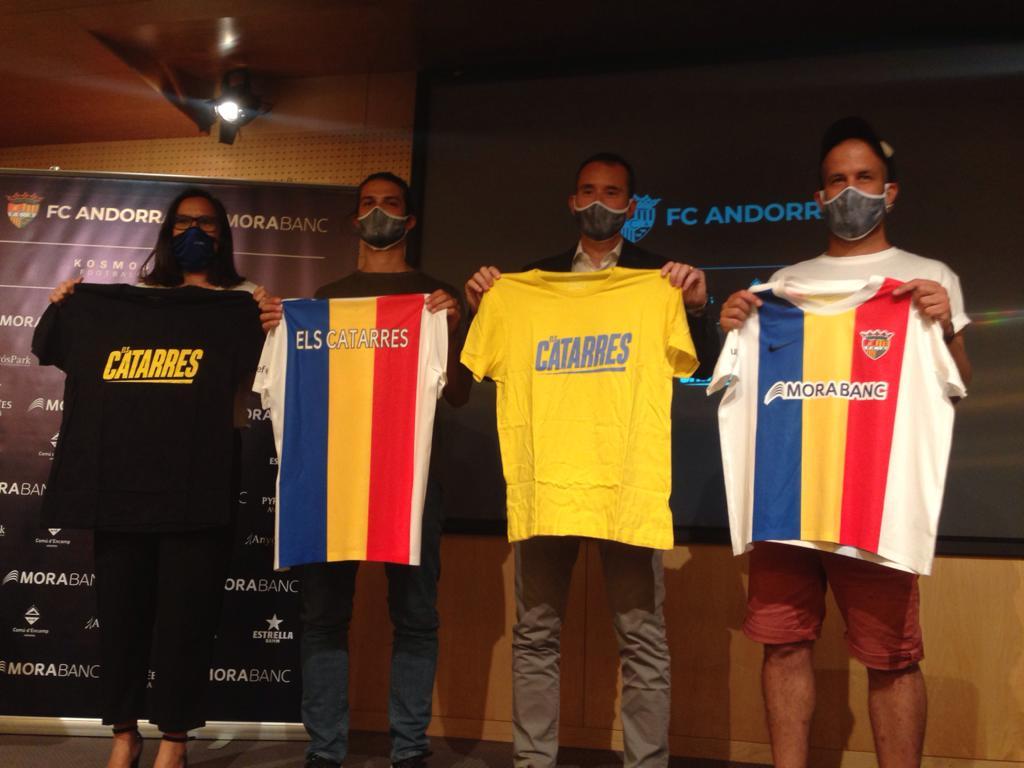 Replying to @diariandorra: Els Catarres composen el nou himne de l'FC Andorra @fcandorra @elscatarres