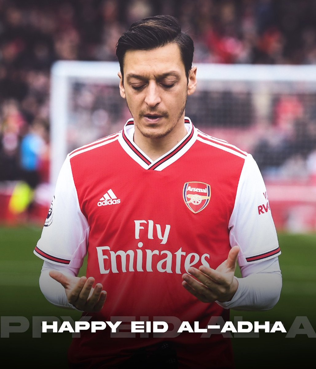 Happy Eid-al-Adha to all my Muslim brothers & sisters. 🕌 May everyone in the world stay safe and well during these difficult times. 🤲🏼❤️ Kurban Bayramımız kutlu olsun! #M1Ö https://t.co/21y23bwHzY