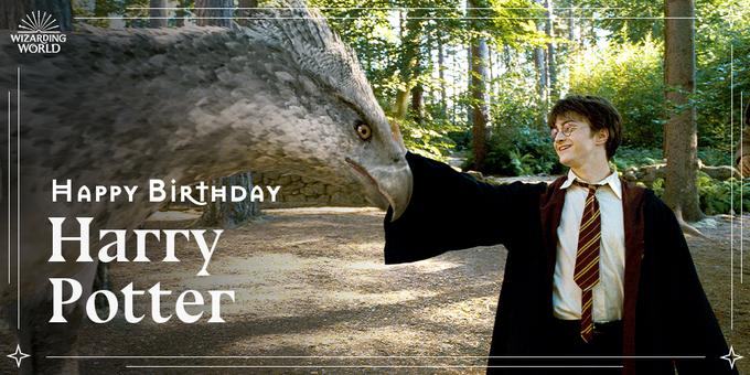 Happy Birthday to Harry Potter, the Chosen One