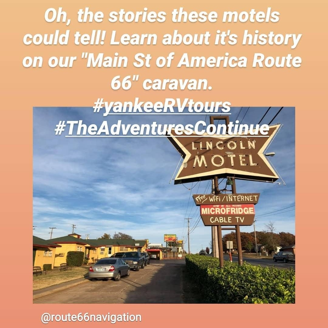 Driving on historic #route66 in an RV will be an adventure, you don't want to miss! #yankeeRVtours #TheAdventuresContinuepic.twitter.com/agh9QMMGYx