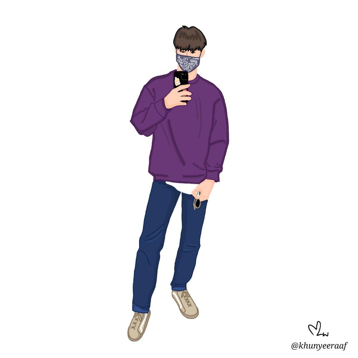 Luv u purple ~~@Tawan_V #Tawan_V #ชาวบ้านจิตรกรpic.twitter.com/lCHBdYFlzT