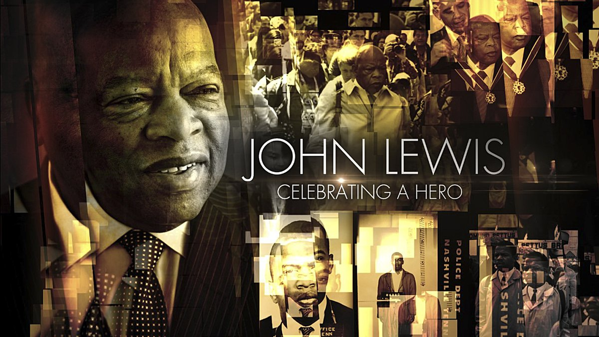 Join us for JOHN LEWIS: CELEBRATING A HERO, a tribute to the life and legacy of @repjohnlewis featuring @GayleKing @tylerperry @oprah #BradPitt and many more, this Tuesday, August 4 at 10pm/9c on CBS and @CBSAllAccess. #JohnLewisCelebration bit.ly/2EzBTpP
