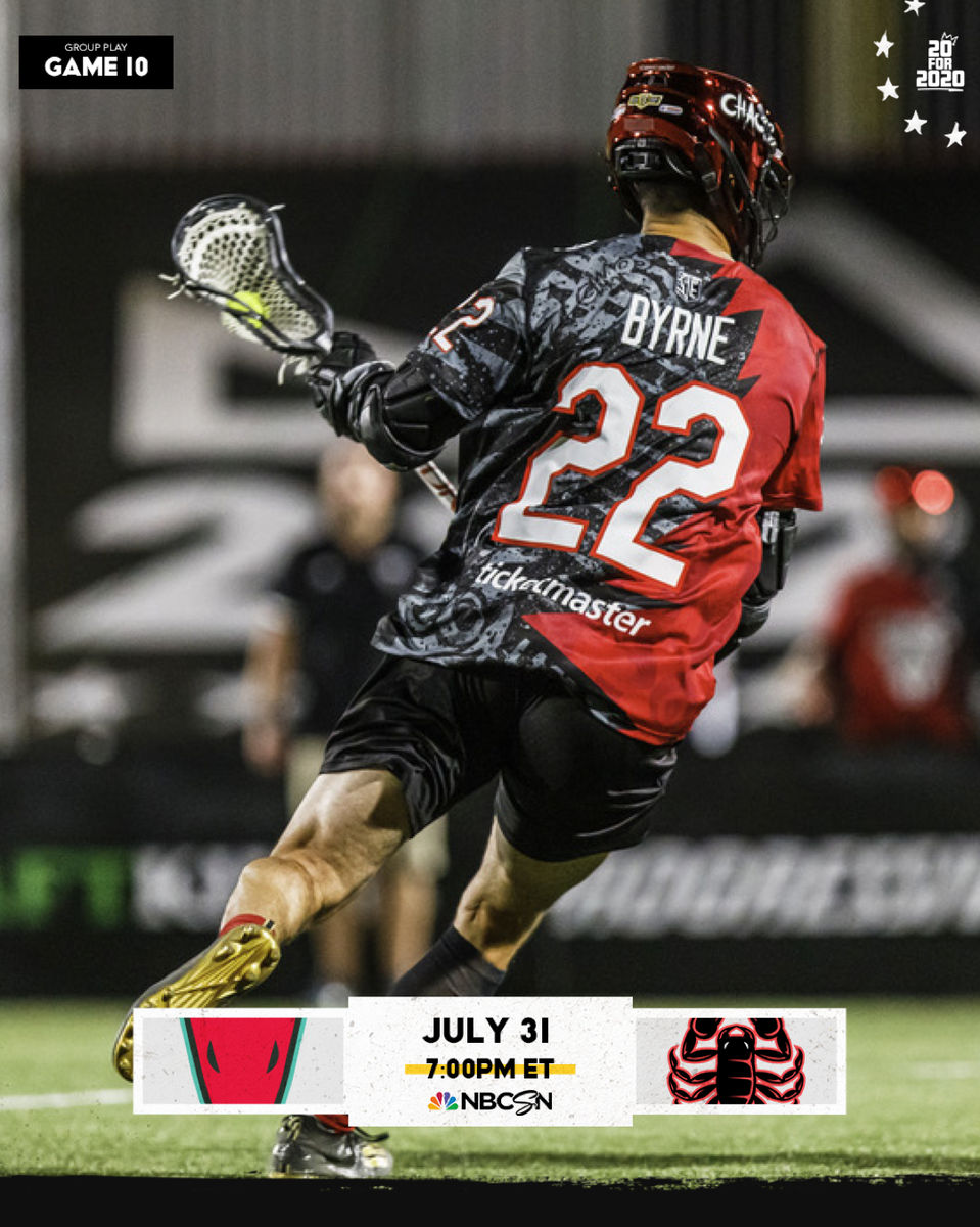 Plenty of @PremierLacrosse action tonight featuring members of the #HofstraFamily. @Joshbyrne94 and @PLLChaos take on defending champs @PLLWhipsnakes at 7:00 p.m. EST on @NBCSN   #RoarWithPride https://t.co/Gtcc7QTxtb
