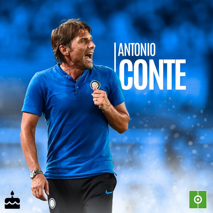 Happy birthday to manager Antonio Conte