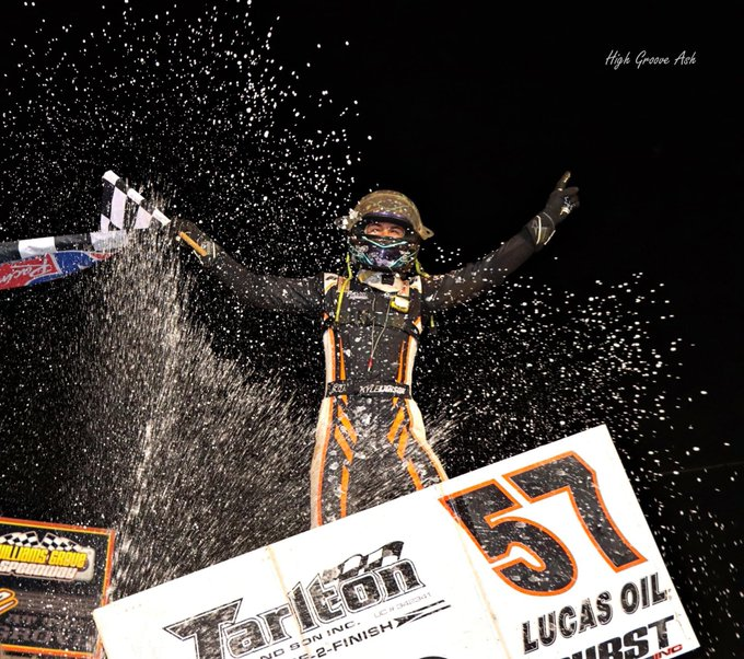 Happy Birthday to Kyle Larson !   Congrats on the win last night with the