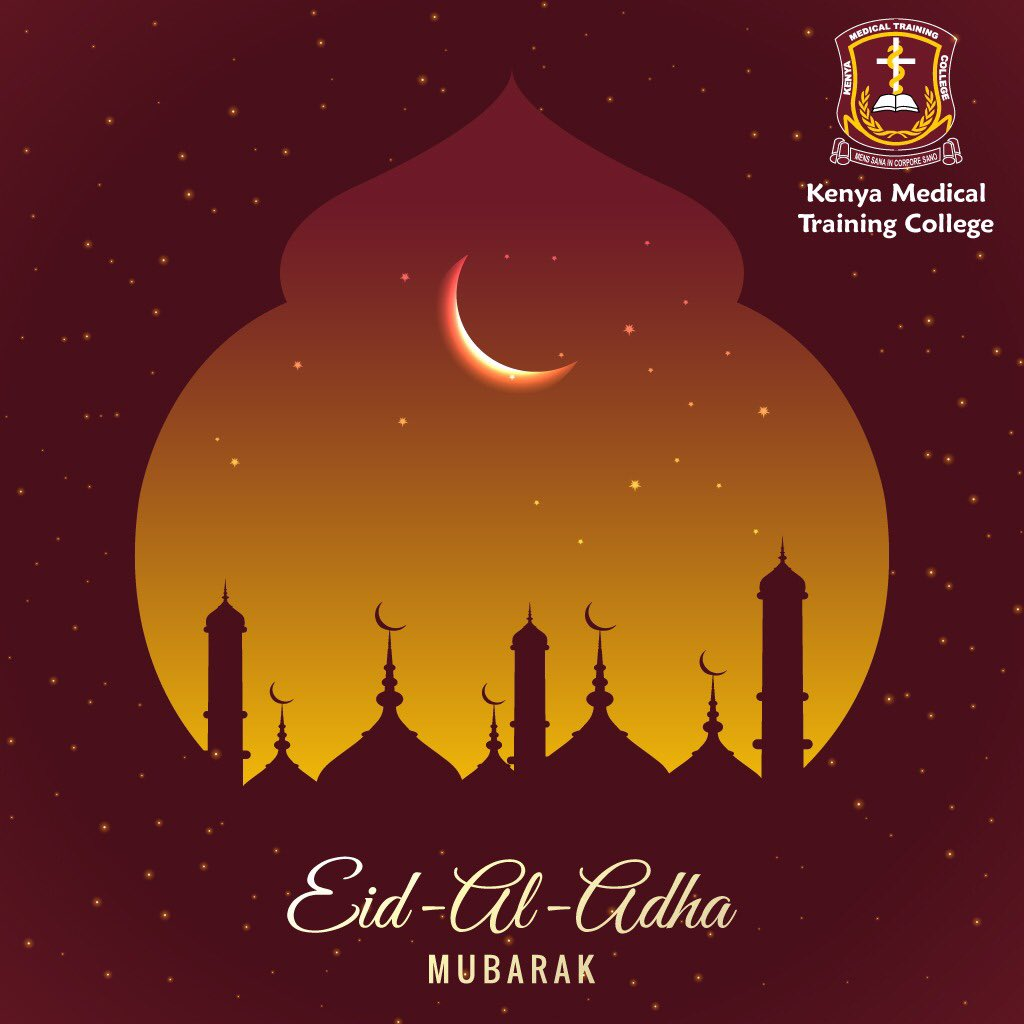 KMTC wishes a happy #EidAlAdha to all Muslims.  May the sacrifice made on Eid al Adha strengthen your faith in Allah and light up your world with countless blessings.  #EidMubarak https://t.co/OCi3gK5IFc