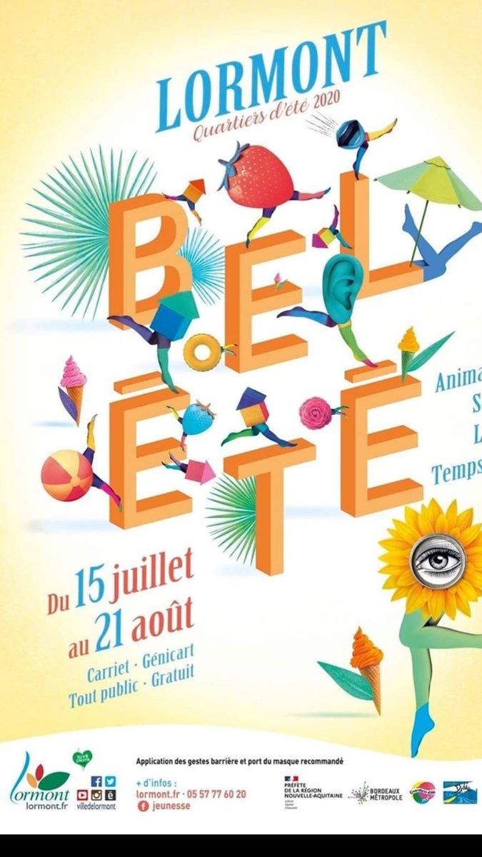 #Belété à #Lormont, ce soir, concert de Melky à partir de 20h sur l'esplanade François Mitterrand ! #concert #culture #musique #animation #famille https://t.co/EnF4Wgw8MD