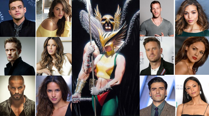 Who will be cast as Hawkman and Hawkgirl in the #BlackAdam movie?! I've made a page with the recent rumors/picks by some of the comics sites! I'll add to the list when other rumors come out! Who is your pick? https://t.co/7dTjPT8Rsh @DCComics @wbpictures @JColletSerra @TheRock https://t.co/eF1wjdBjpo