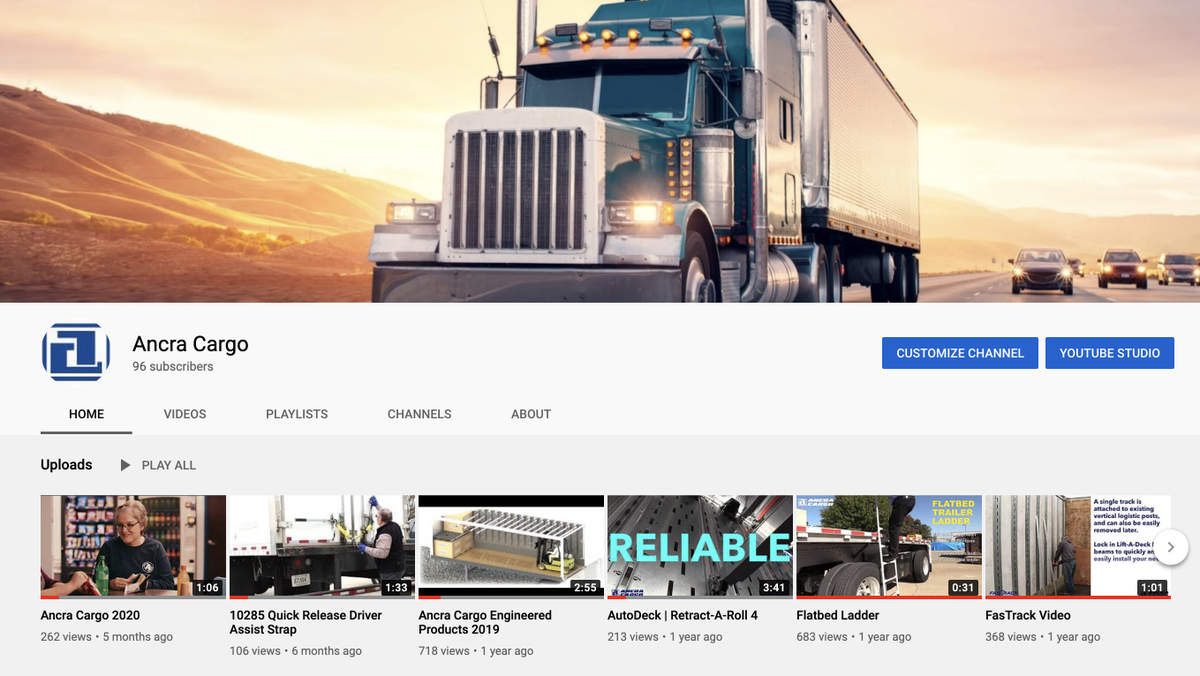Check out Ancra Cargo's YouTube channel to view informational product videos and more!    https://t.co/P3A4zoglJ0 https://t.co/qsgBWRaGDN