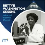 Image for the Tweet beginning: #HiddenNoMore Bettye Washington Greene, Industrial