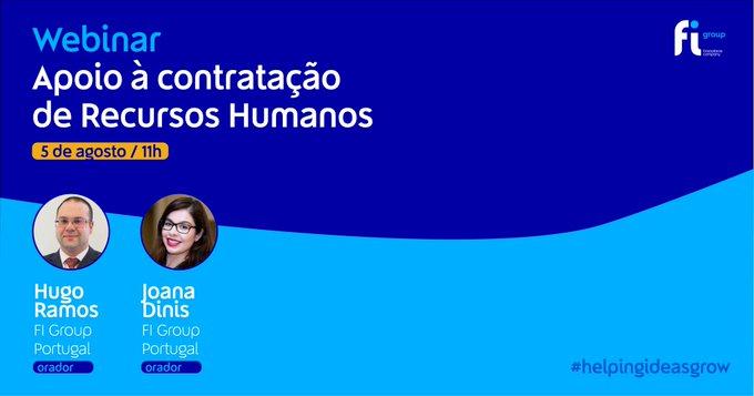 Na próxima quarta-feira, 5 de agosto, às 11h, Hugo Ramos e Joana Dinis vão abordar os princip....