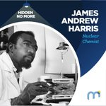 Image for the Tweet beginning: James Andrew Harris, Nuclear Chemist