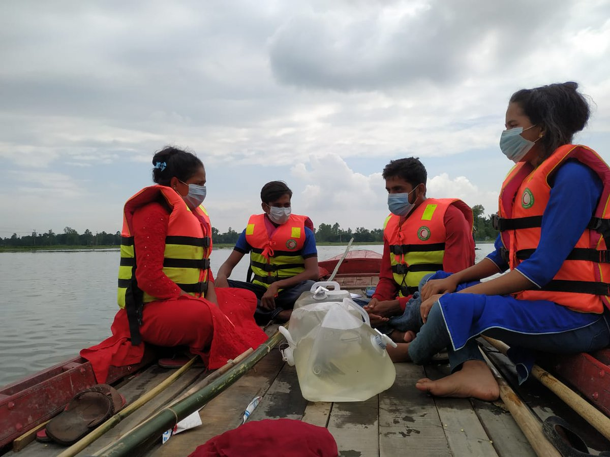 #PhotoOfTheWeek: Disasters don't stop for #pandemics.  #Monsoon flooding and landslides are impacting millions of people in South Asia. Red Cross and Red Crescent societies are distributing clean water, food and essential items, while working to prevent the spread of #COVID19.pic.twitter.com/CHQavRvqmR