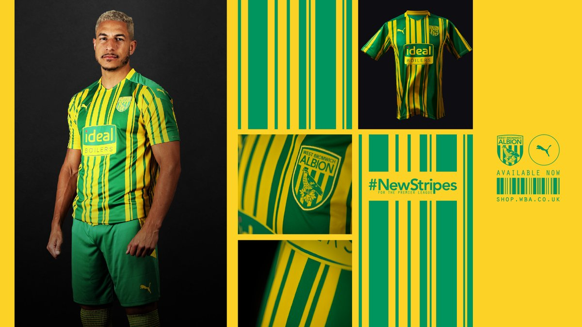 West Bromwich Albion On Twitter 2019 20 And 2020 21 Season Ticket Holders Save 10 On Their Newstripes Discount Is Available On All 2020 21 Replica Home And Away Kit Online Orders Https T Co 2bouuptwet Pumafootball