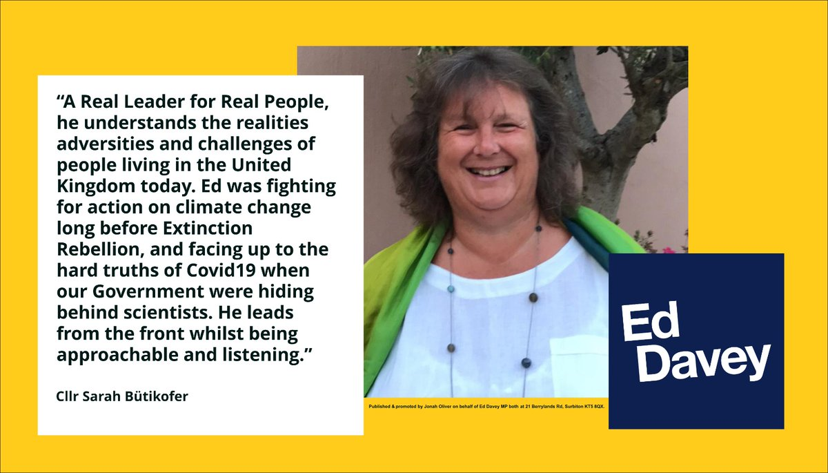 Last year, on the back of their exemplary liberal record, @ButikoferSarah led her @NthNfkLibDems team to an astonishing result: winning 75% of the seats. Its an honour to have the support of such a successful Liberal Democrat campaigner & local government leader #VoteEd today
