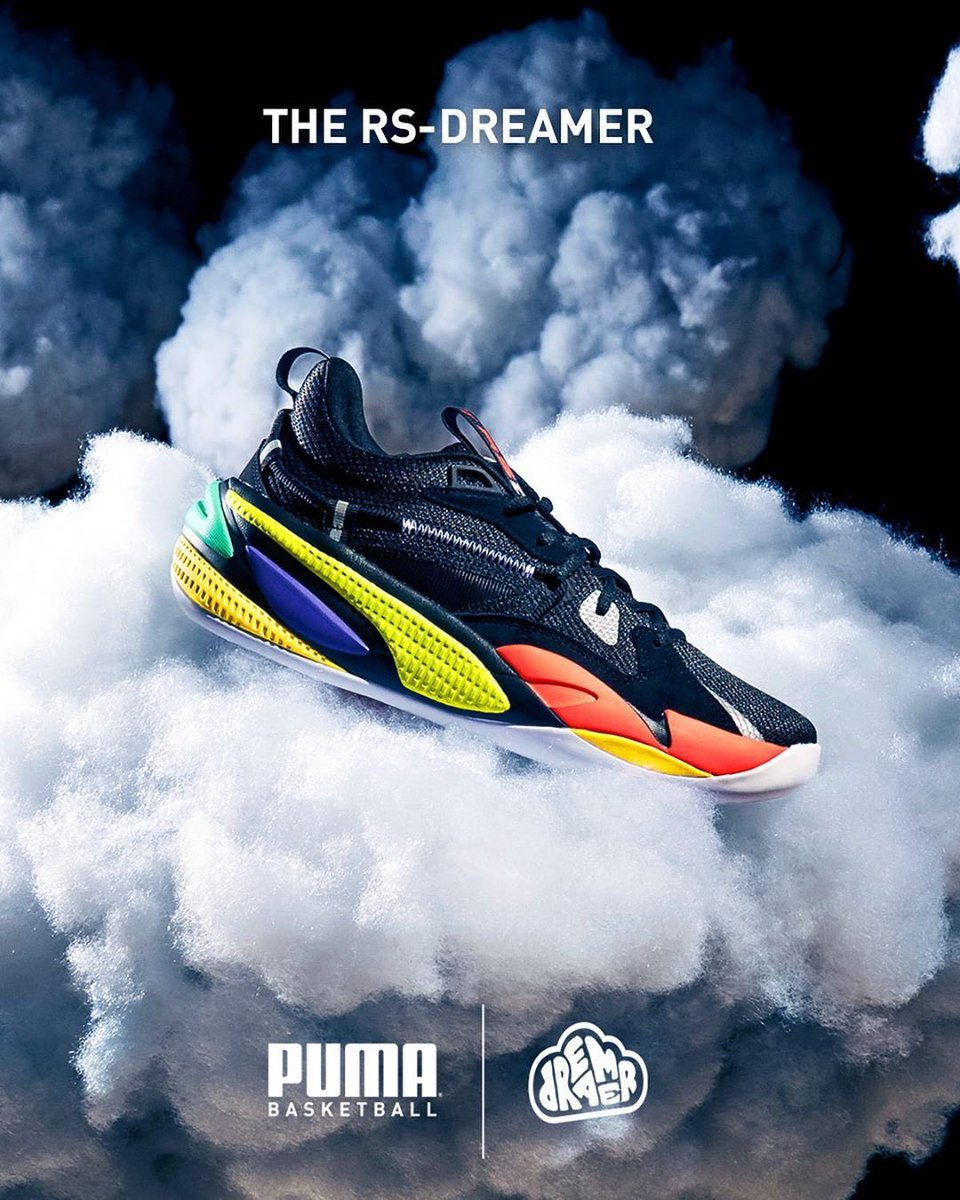 😬Sheeesh, y'all sold out the RS-Dreamer in 1 minute on  🔥👟We still got y'all tho. They're still available in store and at @footlocker stores and online starting at 10am EST / 7am PST today!