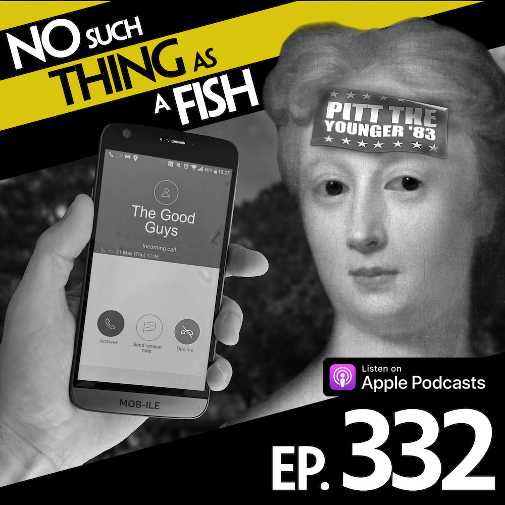 You can tell if someone is a goodie or a baddie in a movie by looking at the phone theyre using. For this fact and more, check out our latest episode No Such Thing As An Innocent Apple, out now on @ApplePodcasts! apple.co/nstaaf