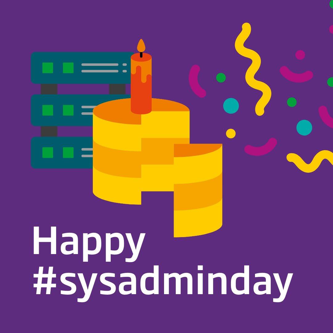 #SysAdminDay