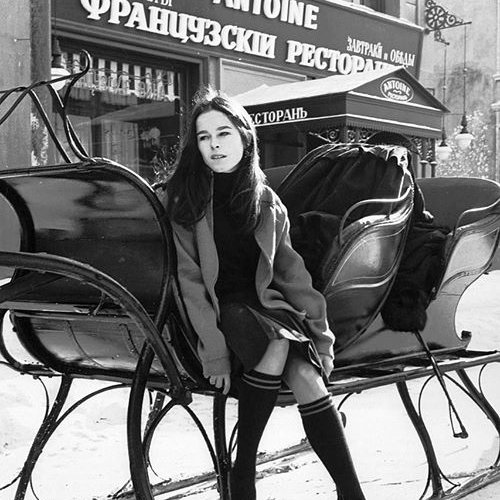 Happy Birthday to Geraldine Chaplin who turns 76 today!  Pictured here in  Doctor Zhivago (1965).