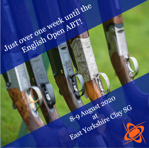Just over one week to go until the English Open ABT at East Yorkshire Clay Shooting Ground! Who's excited?  #trapshooting #claypigeons #claytargets #claytargetshooting #claypigeonshootingpic.twitter.com/Dn4dpmWodG