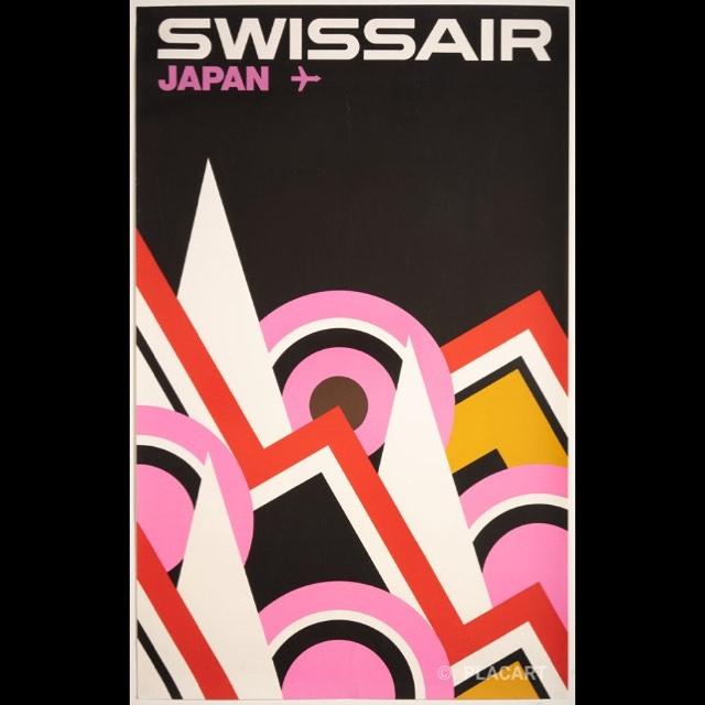 "via #IVPDA member @GalleryPLACART ""Available again: Swissair – Japan (ca.1965) https://placart.ch/en/posters/ #poster #vintageaviation #swissair #swissposter #graphicart #vintageposter #originalvintage #swissairlines #japan #swissairgrafik #aviationlovers #swissgraphicdesign #posterart""pic.twitter.com/hYzZfHBvsk"