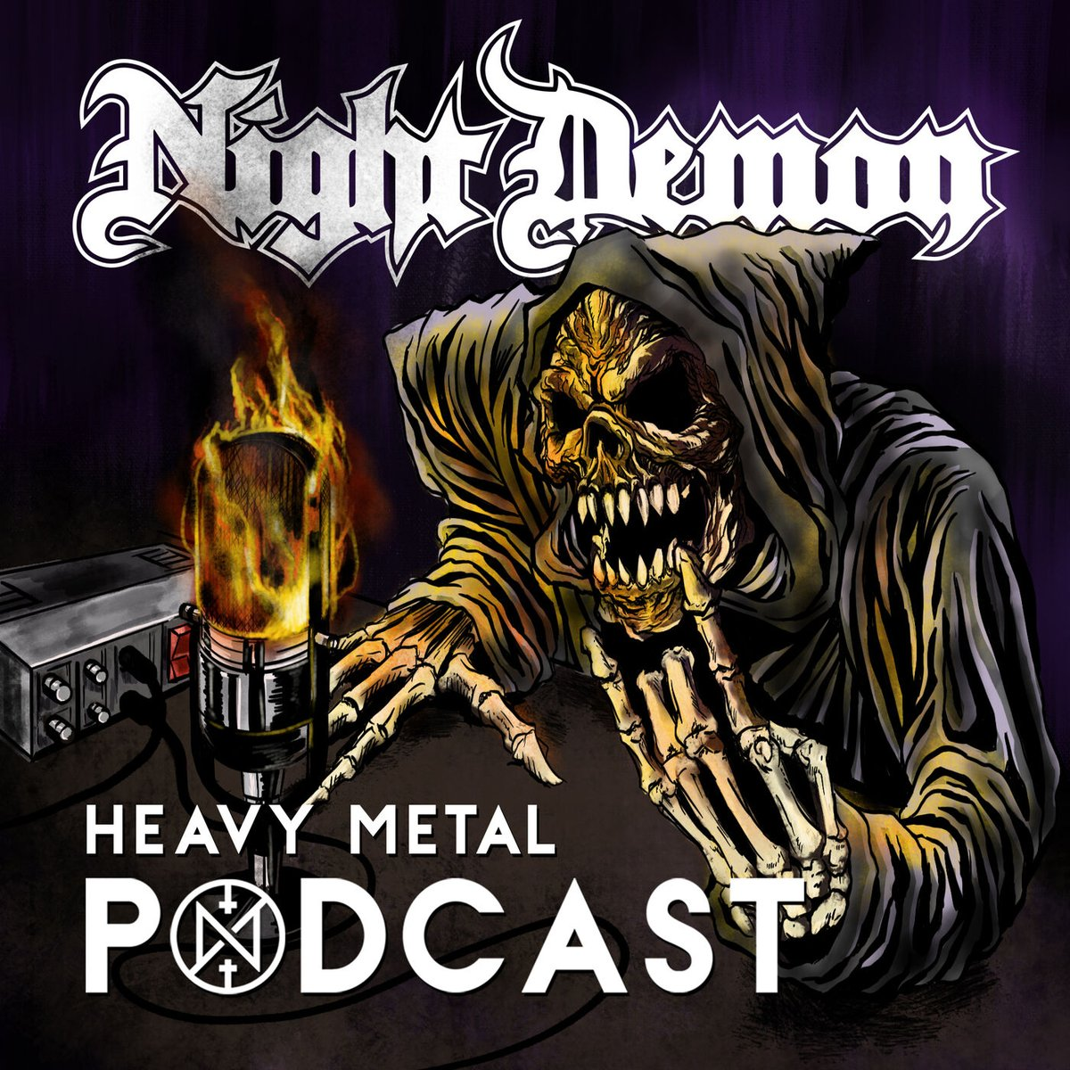 The #NightDemon #Podcast is here!  You think you know Night Demon? Then the Night Demon #HEAVYMETAL Metal podcast is for you. Step into the darkness as the band peels back the curtain to give you an unprecedented all-access look into the mind of the band!