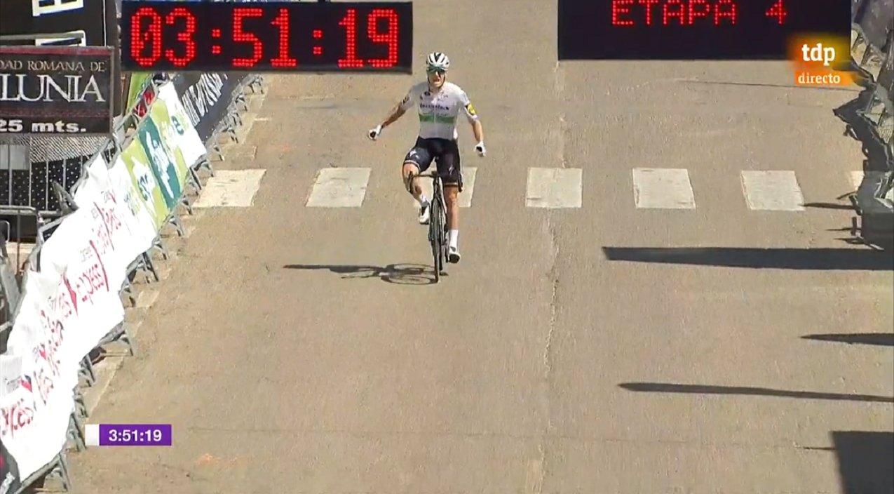 Declaraciones de Sam Bennett tras ganar la etapa 4 en la Vuelta Burgos 2020