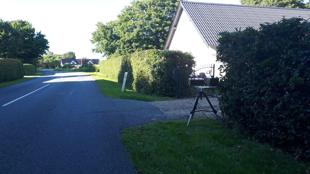 ATK måling på en borgerhenvendelse på Gørdingvej i Esbjerg Kommune i en 60 km zone. 19 blev taget for at køre for stærkt.  5 fik  et klip i kørekortet. God weekend. #atkdk #politidk https://t.co/JMkTghO3sy