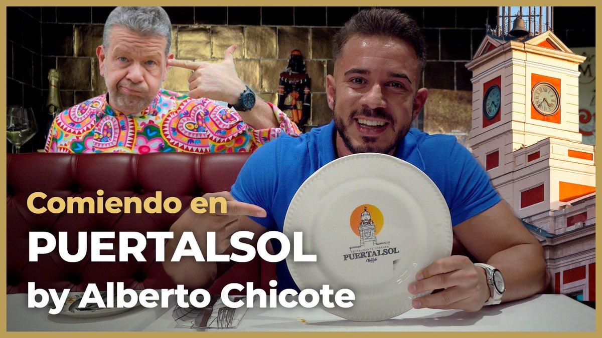 ¡Visito PUERTALSOL de ALBERTO CHICOTE y pruebo 10 PLATOS! 🤰 @albertochicote @PuertalsolMad  https://t.co/DiTyeqdlrm https://t.co/9PXmBsluzw