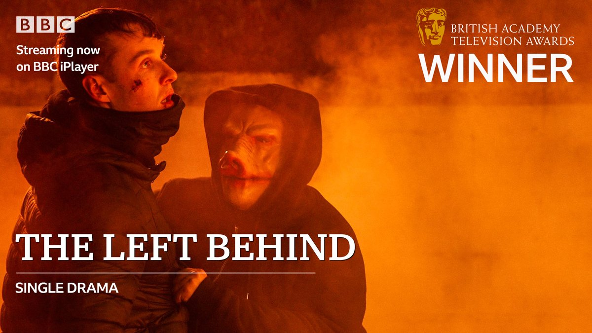 Congratulations to #TheLeftBehind on the #BAFTATV Single Drama award!