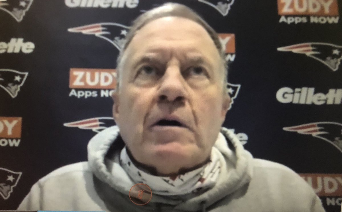@MikeReiss's photo on Bill Belichick