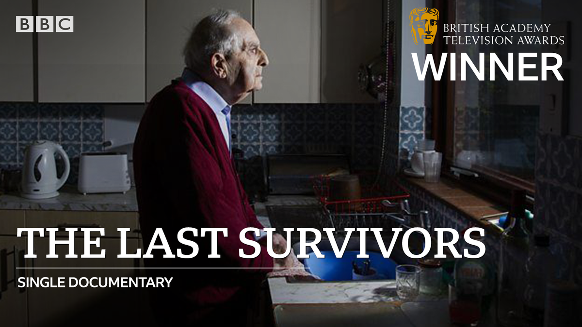 Congratulations to the powerful and moving #TheLastSurvivors for the #BAFTATV Single Documentary award.