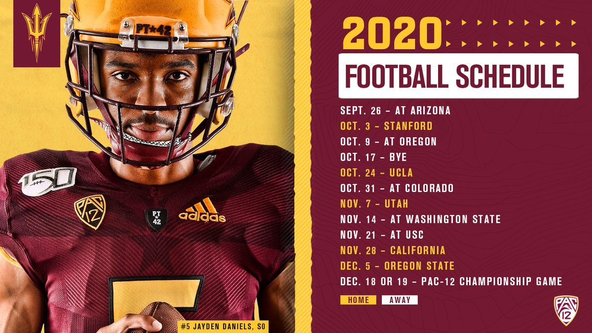 Here is the 2020 schedule! #ForksUp #GoDevils Story: bit.ly/33kbiYp