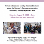 Image for the Tweet beginning: Our Feminist Walk is going