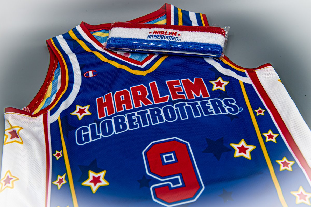 Basketball is back! Enjoy this special offer to celebrate the return of our favorite sport! Receive a FREE Harlem Globetrotters headband with the purchase of any Globetrotters replica jersey, and FREE SHIPPING on all orders! Visit shop.harlemglobetrotters.com