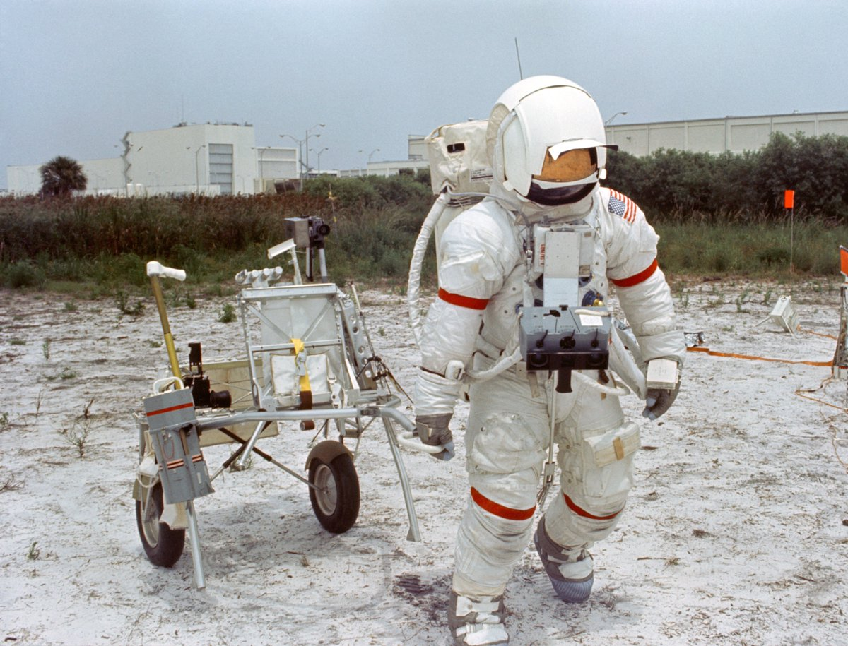 50 years ago, in the summer of 1970, astronaut training continued as modifications were made to the launch dates and the capsules of Apollo 14 and 15. New updates to the spacecrafts would reflect recommendations from the Apollo 13 Review Board. Learn more: go.nasa.gov/2XeNkdf