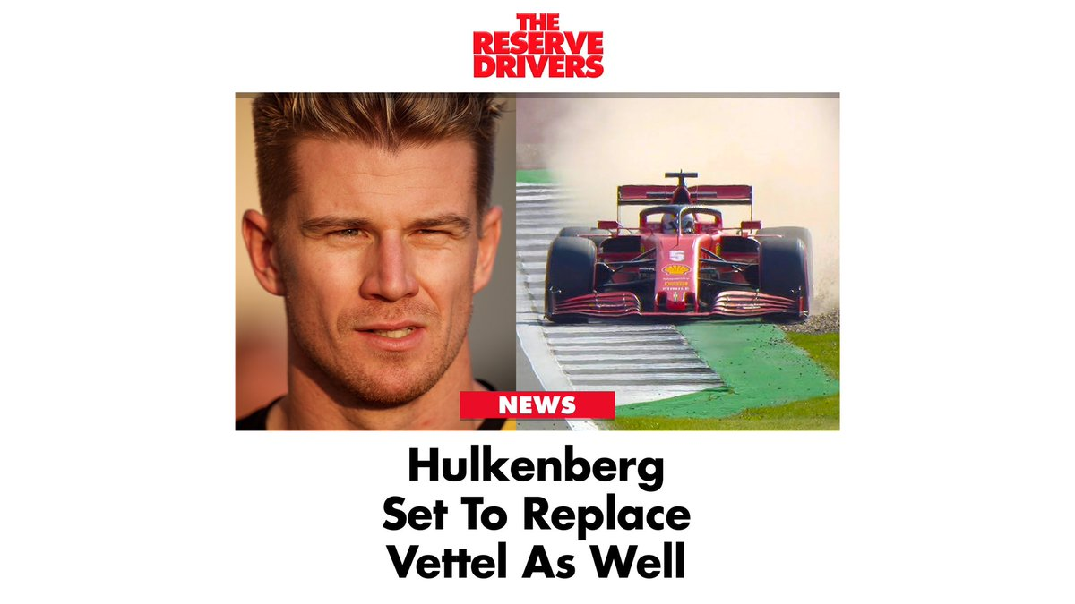 """Better to be safe than 18th"" #Ferrari said in a statement.  #F1 #Formula1 #BritishGP #NicoHulkenberg #Hulkenberg #Vettel #SkyF1 #HULKENBACK https://t.co/Rwle1OUJds"