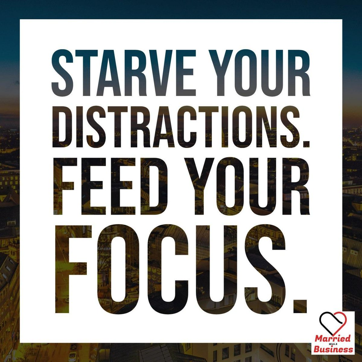 Feed Your Focus!  ITunes: https://tinyurl.com/Imwb010  Spotify: https://tinyurl.com/sMWB010  TuneIn: http://tun.in/tkLjOw   #Focus #Supporteachother #buildeachotherup #marriage #partners #MWB #FindingFocus #Findingyourpath #values #commongoal #movingforwardpic.twitter.com/jlLGjt1pl8