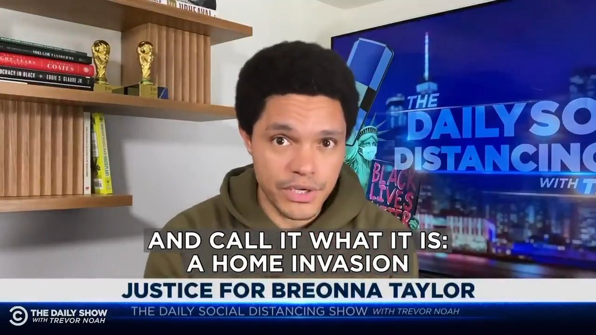 Image for the Tweet beginning: Breonna Taylor's boyfriend did what