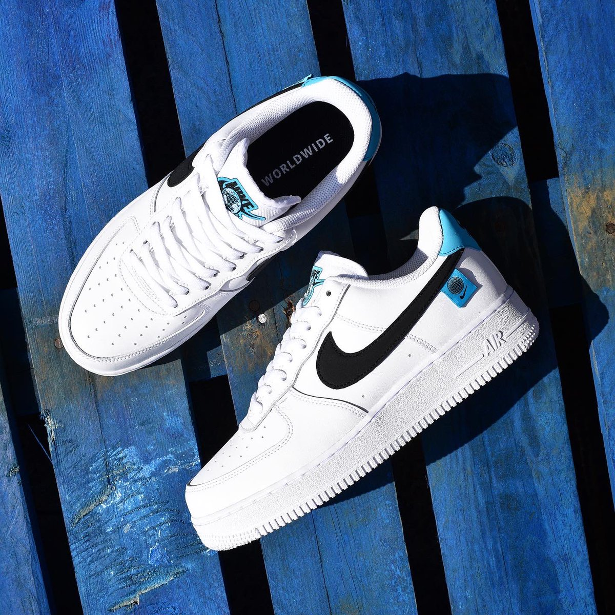 Attic Clothing On Twitter Celebrating Unity In Sport As Part Of The Worldwide Pack The Latest Nike Air Force 1 Is Now Available At Attic This Version Of The Classic Comes In